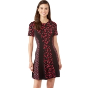 MICHAEL KORS MAPLE GROVE COMBO DRESS