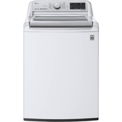 LG 5.5 cu.ft. Smart Wi-Fi Enabled Top Load Washer with TurboWash3D Technology