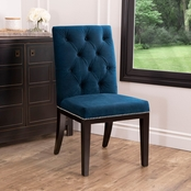 Abbyson Baines Tufted Dining Chair