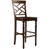 Abbyson Kersey Counter Stool (Set of 2), Brown