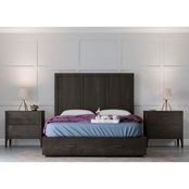Abbyson Camilla 3 Piece Bedroom Set, Queen
