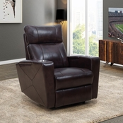 Abbyson Chayne Power Theater Recliner