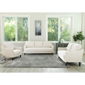 Abbyson Eliana 3 pc. Fabric Sofa Set