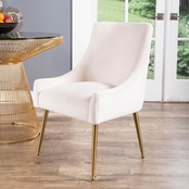 Abbyson Baldwin Velvet Dining Chair