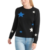 Lucky Brand Star Intarsia Pullover