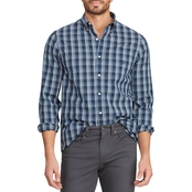 Chaps Performance Flannel Button Down Shirt