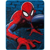 Spider-Man Web Lines Fleece Throw