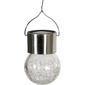 Solar Hanging Crackle Ball 2 pk.