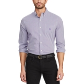 Chaps Checked Easy Care Stretch Shirt