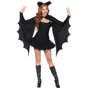 Leg Avenue Shrug Cozy Bat Wings with Ears