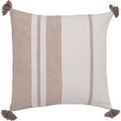 Southern Tide Sandbar Stripe 18 in. Square Decorative Pillow