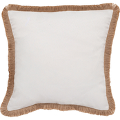Southern Tide Sandbar 16 ix 16 Ivory Decorative Pillow