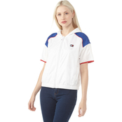 Tommy Hilfiger Sport Short Sleeve Colorblock Windbreaker