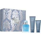Dolce & Gabbana Light Blue Pour Homme Eau Intense Gift Set