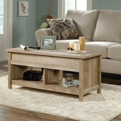 Sauder Cannery Bridge Collection Lift Top Coffee Table