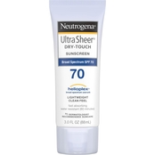 Neutrogena Ultra Sheer Dry Touch Broad Spectrum SPF 70 Sunscreen