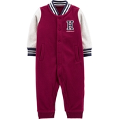 Carter's Infant Boys Varsity Fleece Jumpsuit
