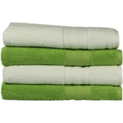 Freshee 4 pc. Solid Bath Towel Set