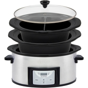 Nesco Pick-A-Pot 3-in-1 Slow Cooker