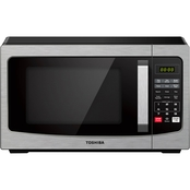 Toshiba EM031M2EC-CHSS 1.1-Cu. Ft. Digital Microwave, Stainless Steel