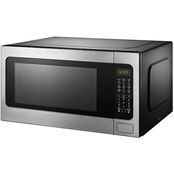 Black+Decker EM262AMY-PHB 2.2 Cu. Ft. Digital Microwave w/ Sensor, Stainless Steel