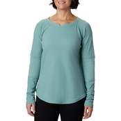 Columbia Plus Size Fall Pine Washed Crew