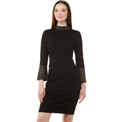 Calvin Klein Sweater Dress with Embellishment