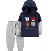 Carter's Infant Boys Graphic Tee 2 pc.Set