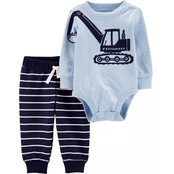 Carter's Infant Boys Bodysuit 2 pc. Pants Set