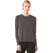 Michael Kors Printed Dot Top