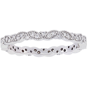 1/4 CT TW Diamond Eternity Ring in 14k White Gold