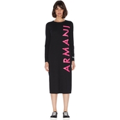 Armani Exchange Jersey Logo Dress