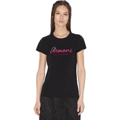 Armani Exchange Sequin Logo Tee