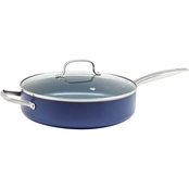 Blue Diamond 5 qt. Saute Pan with Lid