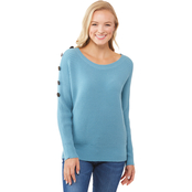 JW Button Shoulder Sweater