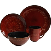 Gibson Elite Milanto Dinnerware 16 pc. Set