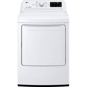LG 7.3 cu.ft. Smart Wi-Fi Enabled Gas Dryer with TurboSteam