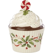 Lenox Hosting the Holidays Cupcake Covered Candy Dish
