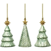 Lenox Trees Mercury Glass Ornament 3 pc. Set