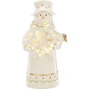 Lenox Gingerbread Scene Lit House Ornament