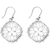 Lucky Brand Compass Small Drop Earrings