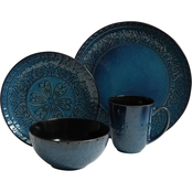Gibson Elite Milanto 16 pc. Dinnerware Set