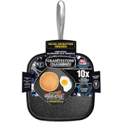 Granite Stone Diamond Nonstick Griddle Pan, 10.5 in.