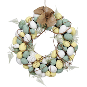 Gigi Seasons Natural Easter Egg Wreath