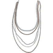 jules b Linked For Pearls Necklace