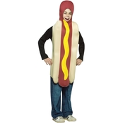Rasta Imposta Child Hot Dog Costume 7-10