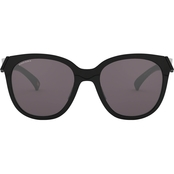 Oakley Polished Black/PRIZM Grey Round Sunglasses 0OO9433 943301