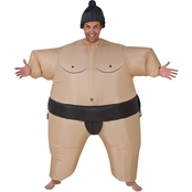 Gemmy Adult Sumo Wrestler Inflatable Costume