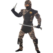 California Costumes Child Ninja Special Ops Costume