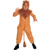 Rubi's Costume Child Wizard Of Oz Cowardly Lion Costume